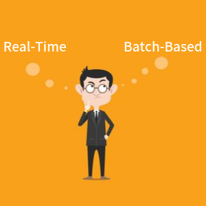 Batch vs Real Time accounting
